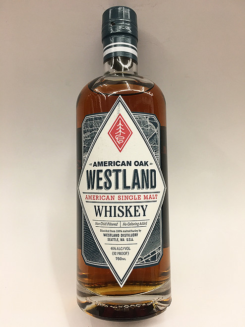 Westland American Oak Single Malt Whiskey