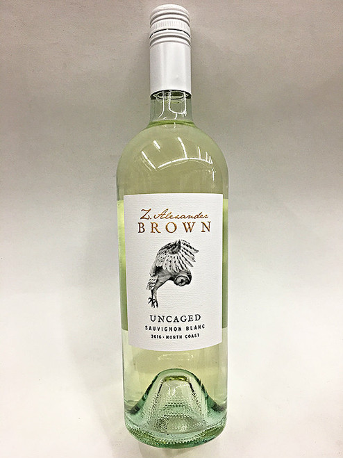 Zac Alexander Brown Uncaged Sauvignon Blanc