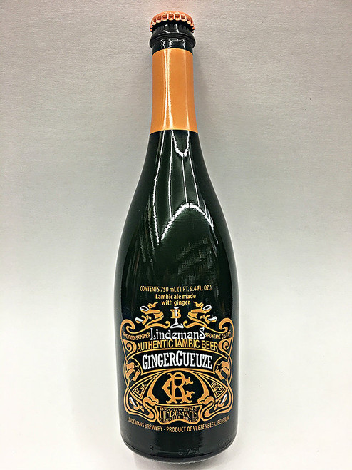 Lindemans GingerGueuze Authentic Lambic Beer