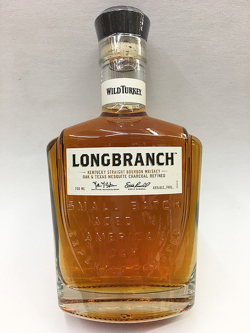 Wild Turkey Longbranch Oak & Texas Mesquite Charcoal Bourbon