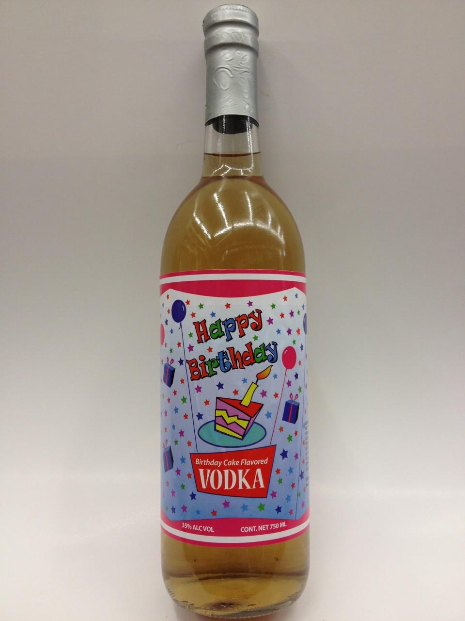Happy Birthday Cake Vodka