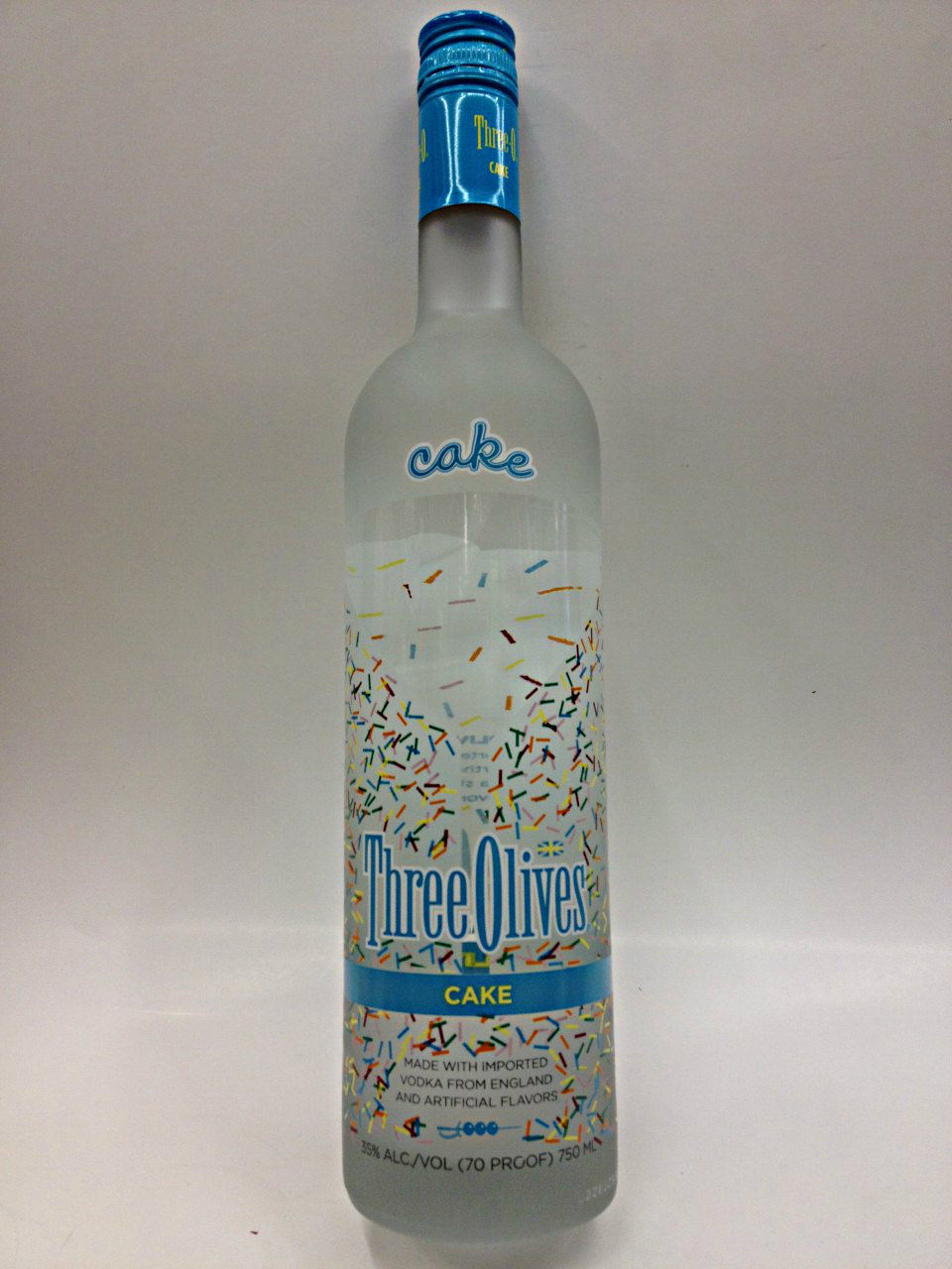 Three Olives Cake Vodka