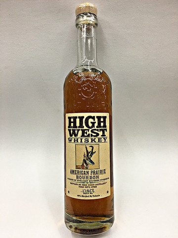 High West American Prairie Bourbon Whiskey Quality