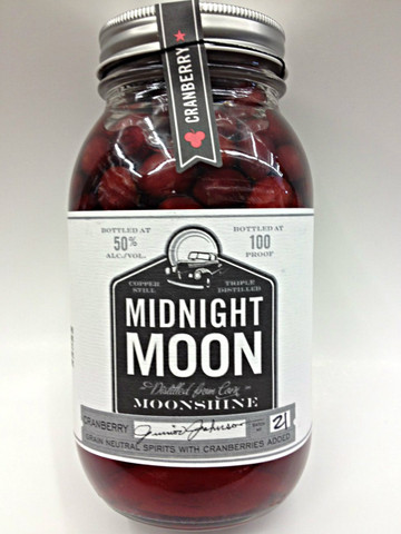 Midnight Moon Moonshine | Cranberry Moonshine | Quality ...