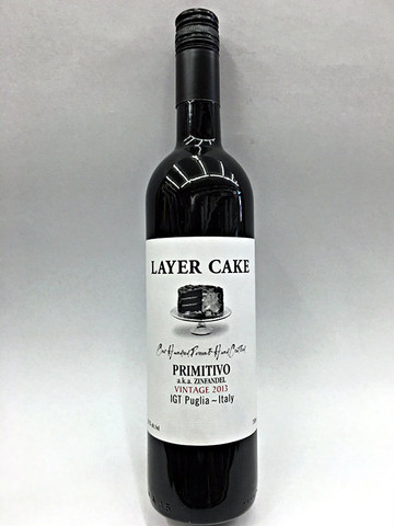Layer Cake Primitivo Zinfandel Quality Liquor Store