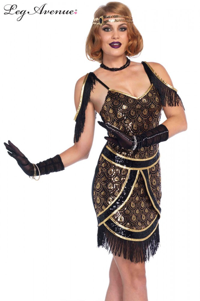 Flapper 1920s Speakeasy Sweetie Dress
