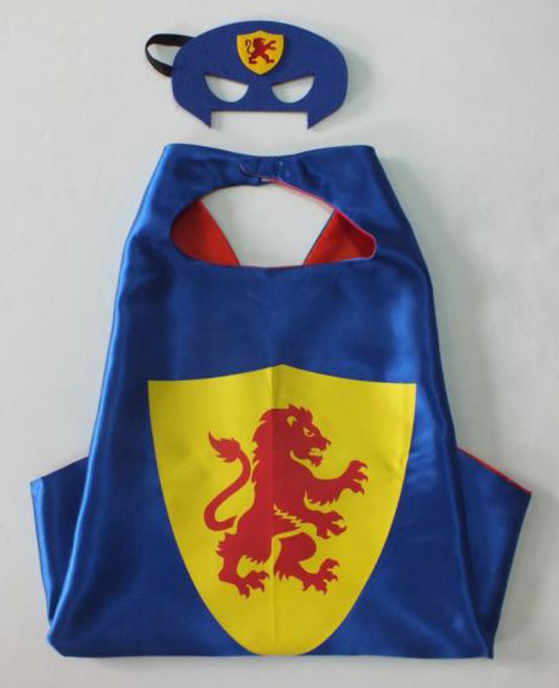 King Superhero Cape & Mask