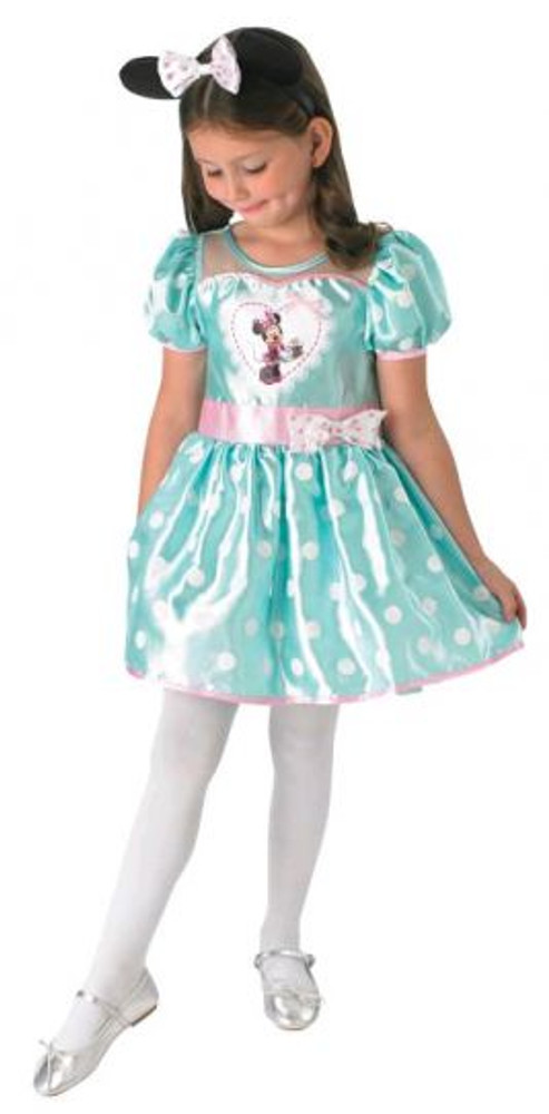 Minnie Mouse Cupcake Mint Girls Costume