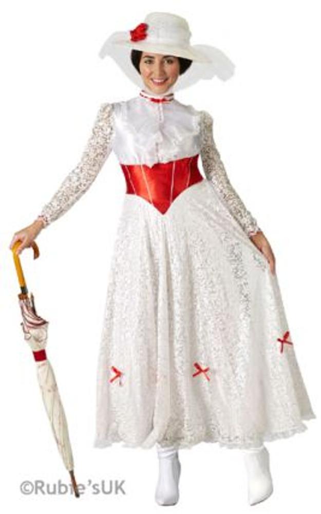 Mary Poppins Jolly Holiday Womens Costume
