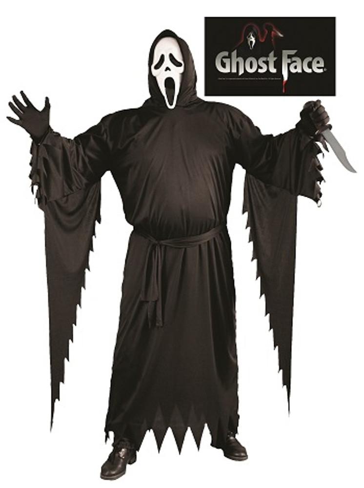 Scream Ghost Face Adult Costume - Plus