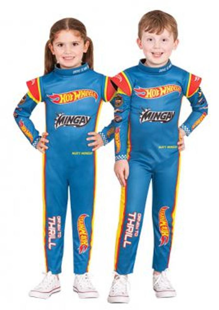 Hot Wheels Racing Suit Kids Costume