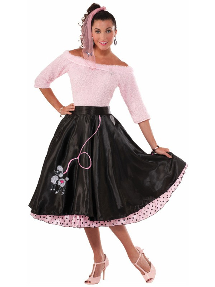 1950s Poodle Skirt Womens Costume