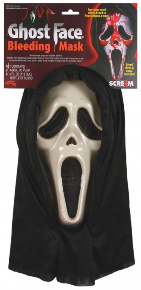 Scream Bleeding Ghost Face Mask