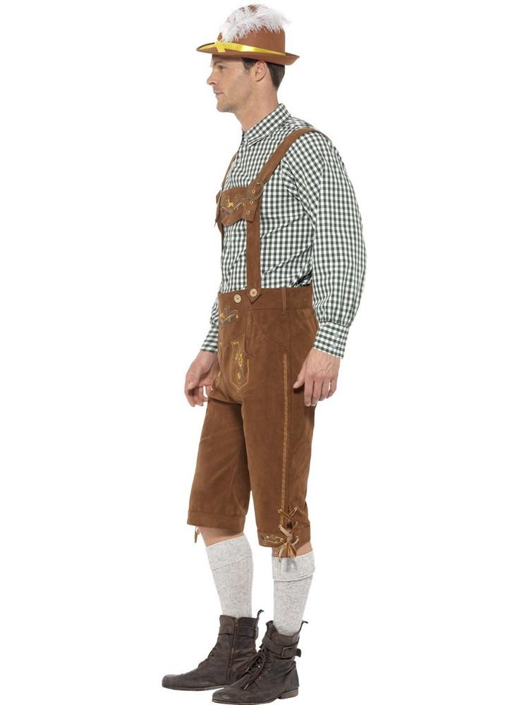 Oktoberfest Traditional Deluxe Hanz Bavarian Costume