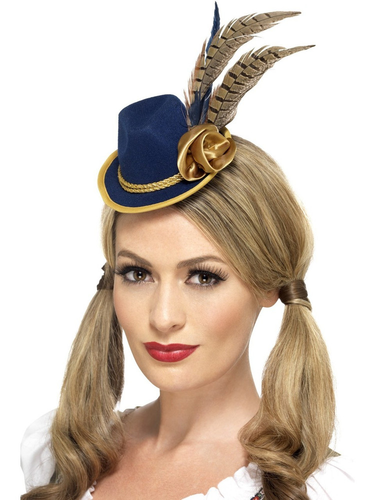 Oktoberfest Authentic Bavarian Mini Hat