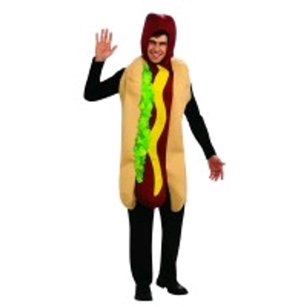 Hot Dog Costume Adult