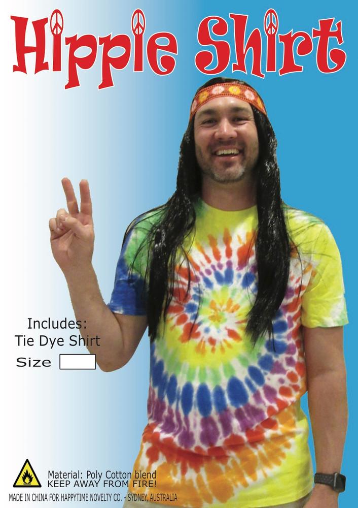1960's Hippie Tie Dye Shirt