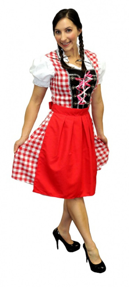 Oktoberfest Beautiful Beer Maiden Costume