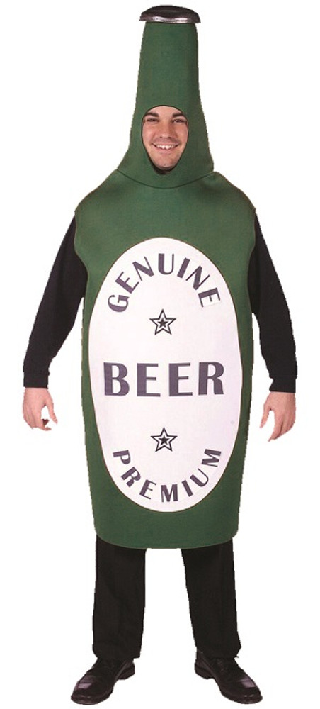 Beer Bottle Green Oktoberfest Mens Costume