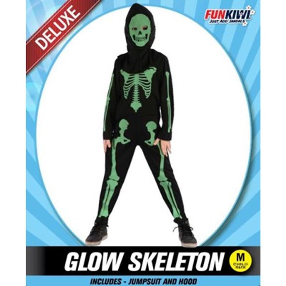 Skeleton Glowing Kids Costume