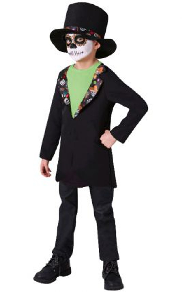 Halloween Day of the Dead Boys Costume