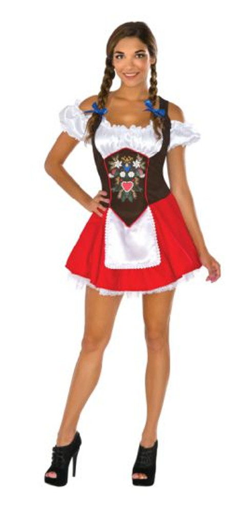 Oktoberfest Beer Garden Babe Womens Costume
