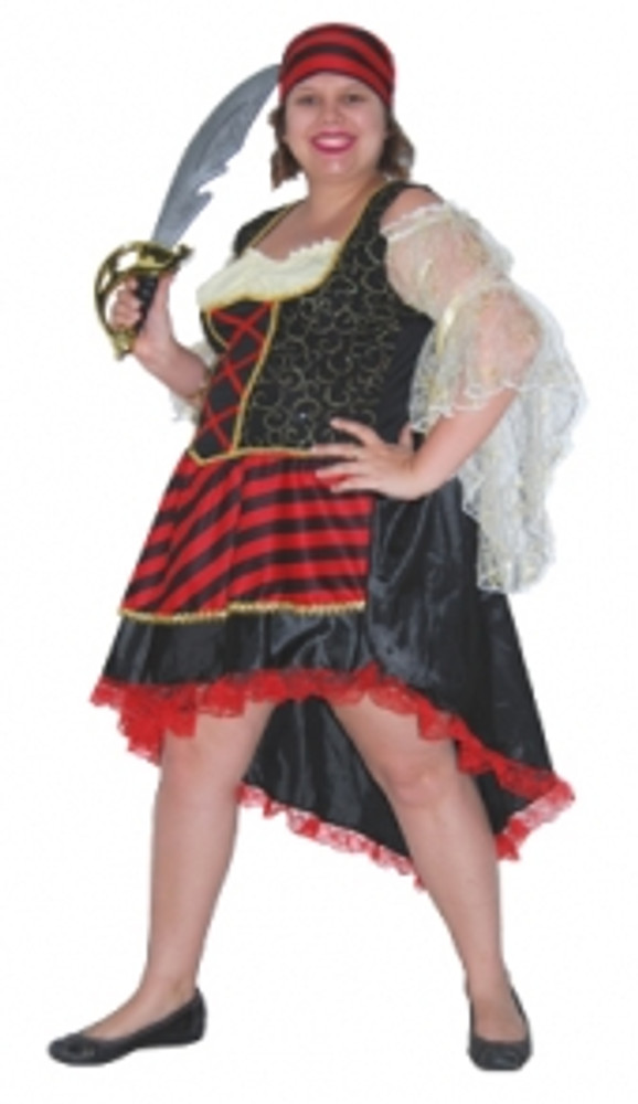 Pirate Lady - Adult Plus - XL