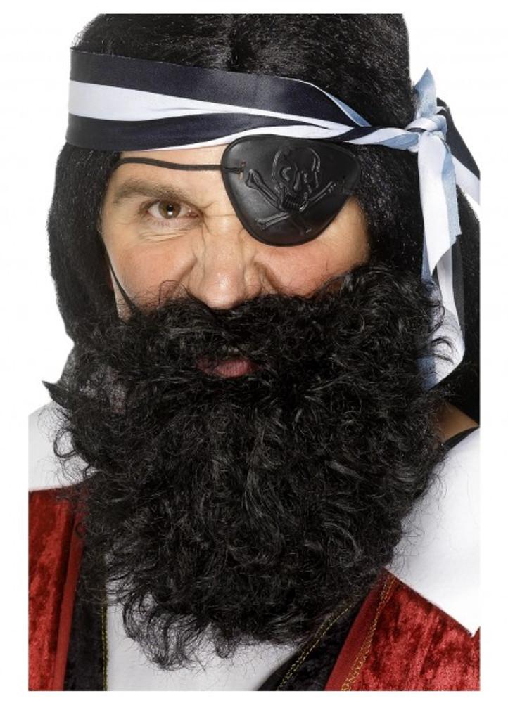 Pirate Beard Black