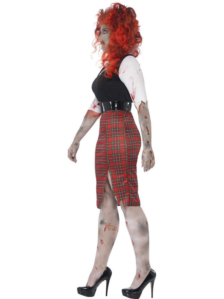 Zombie School Girl Plus Womens Costume