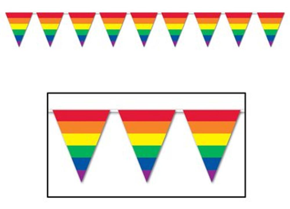 Banner - Pennant Rainbow