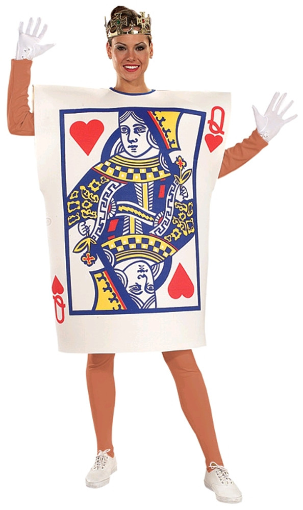 Queen Of Hearts Card Womens Costume
