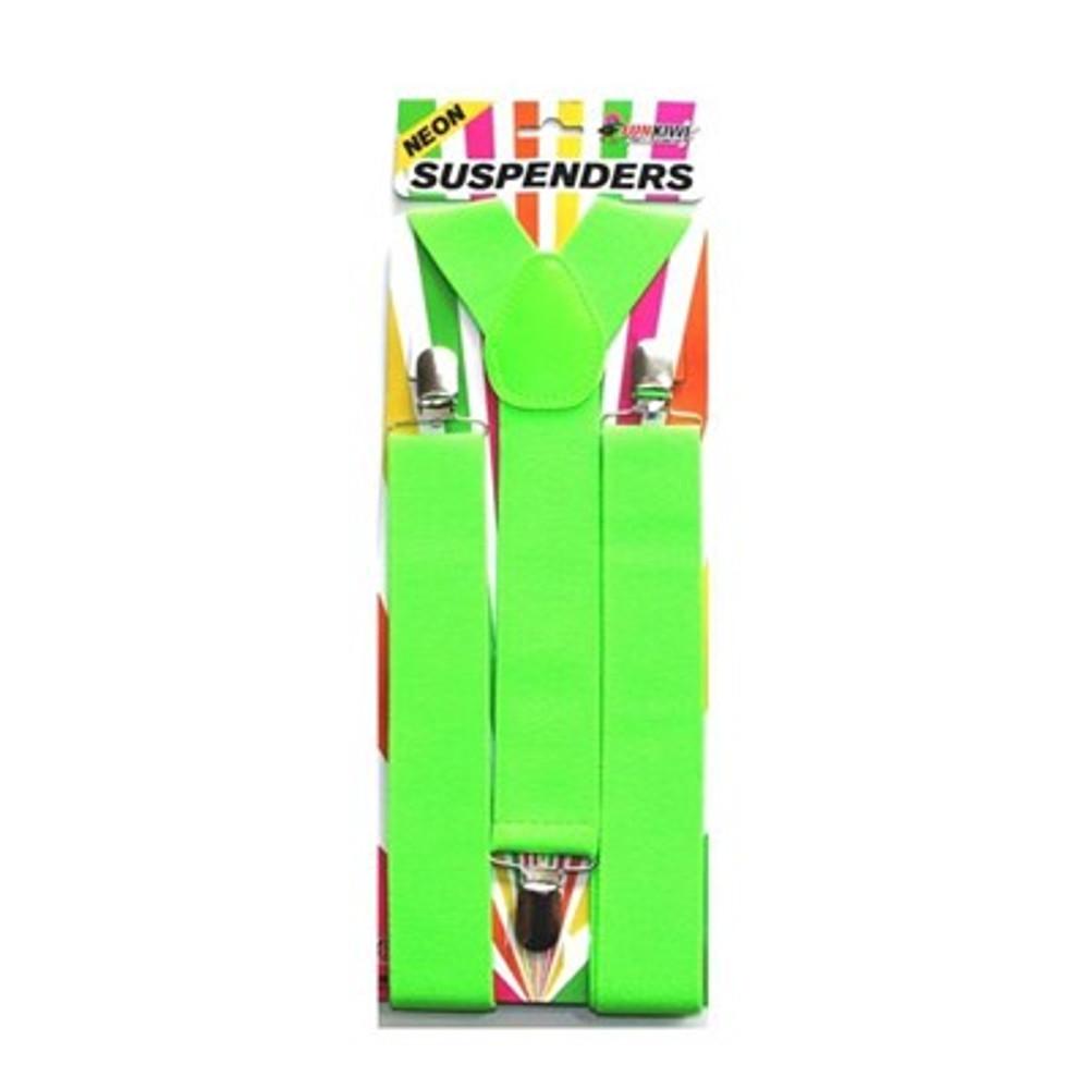 Braces Suspenders - Neon Green