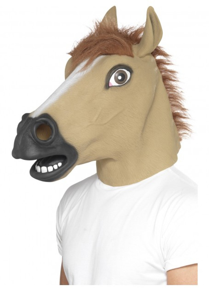 Horse Animal Latex Mask