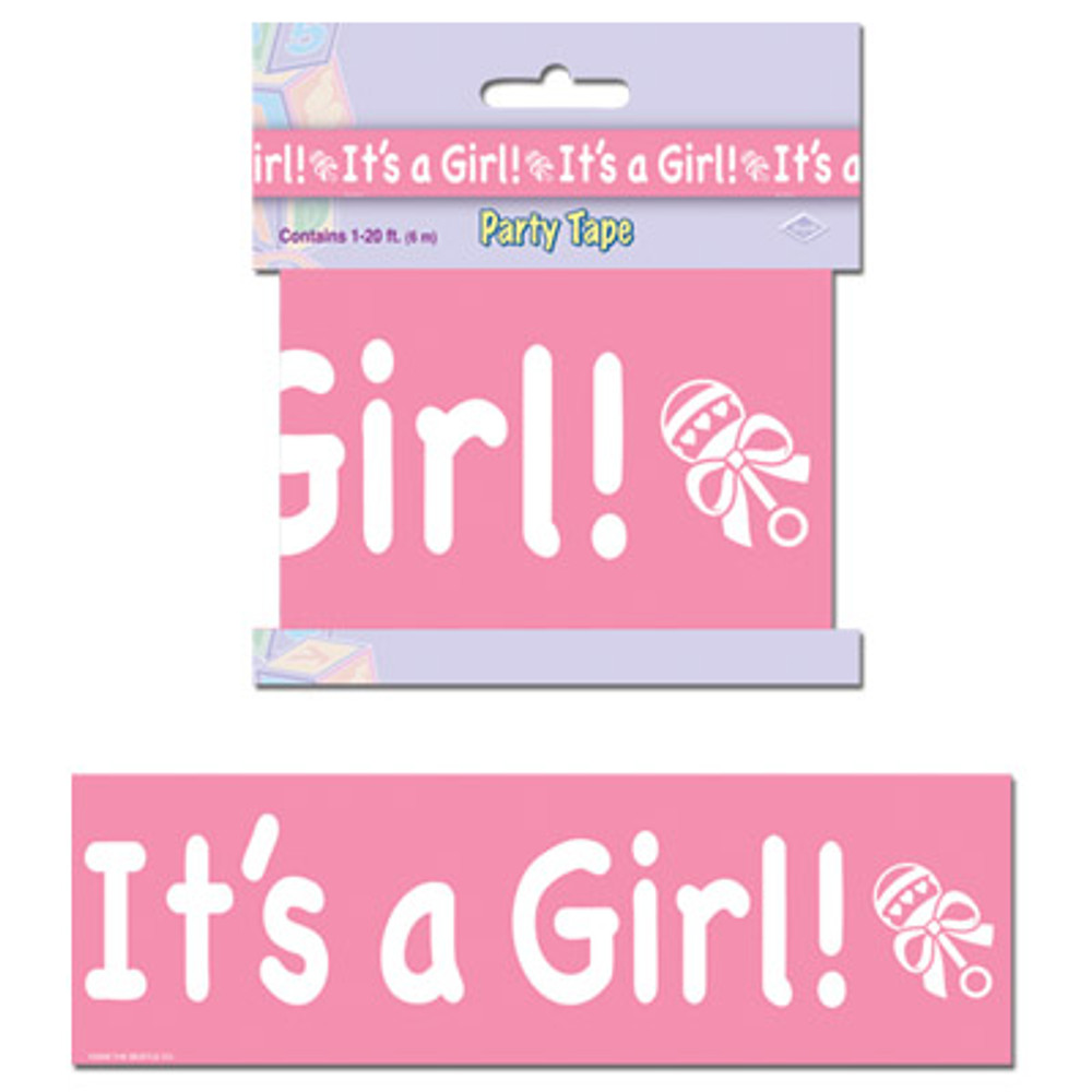 Baby Party Tape - It's A Girl