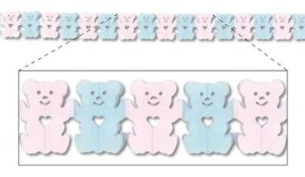 Baby Teddy Bear Garland Petite