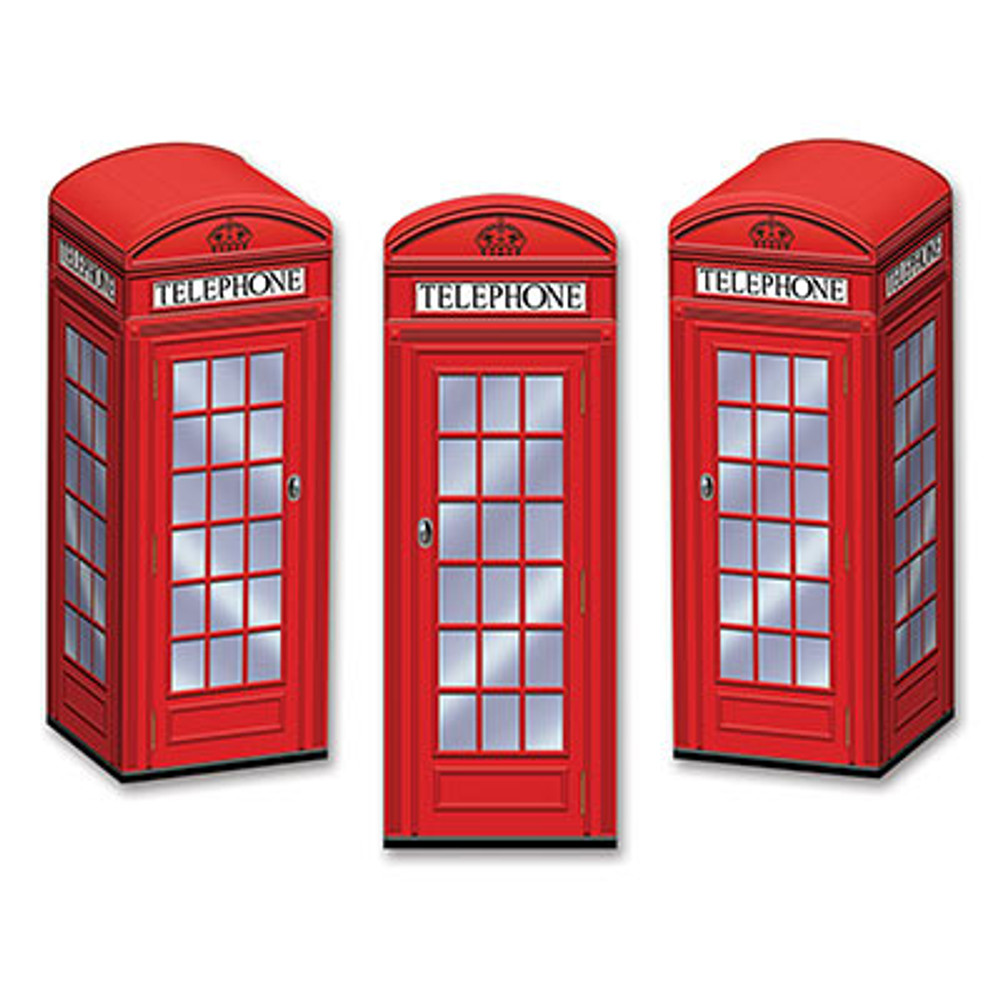 British Phone Box Favour Boxes