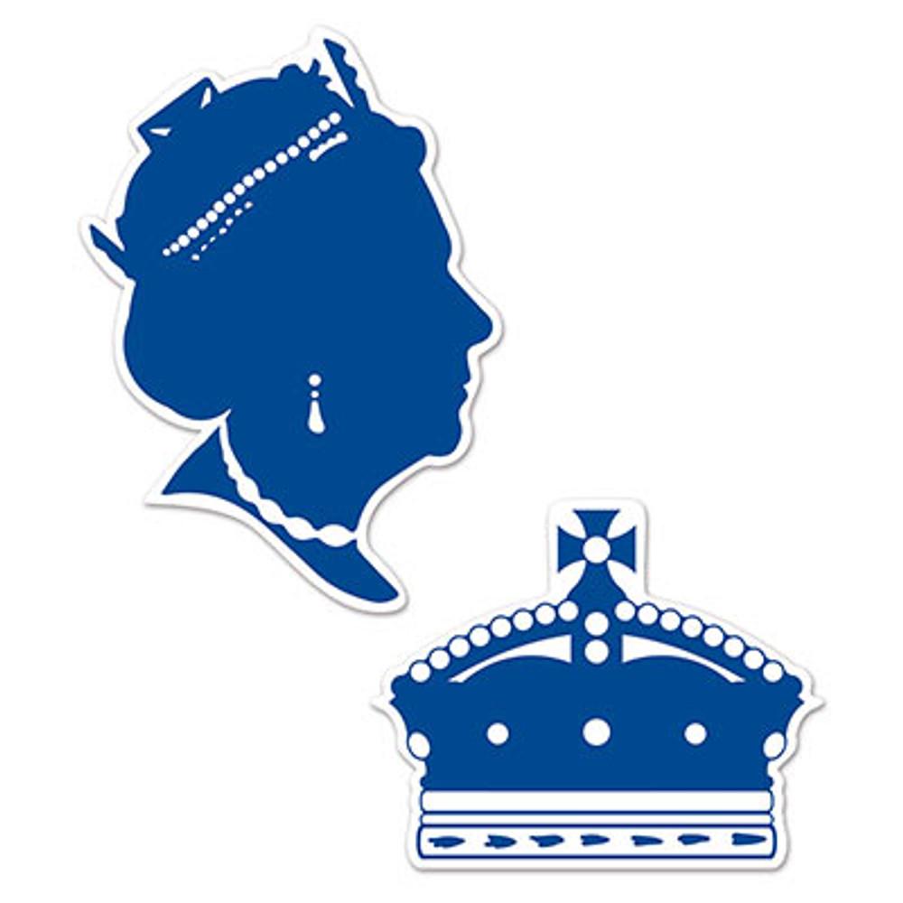 British Queen Silhouettes