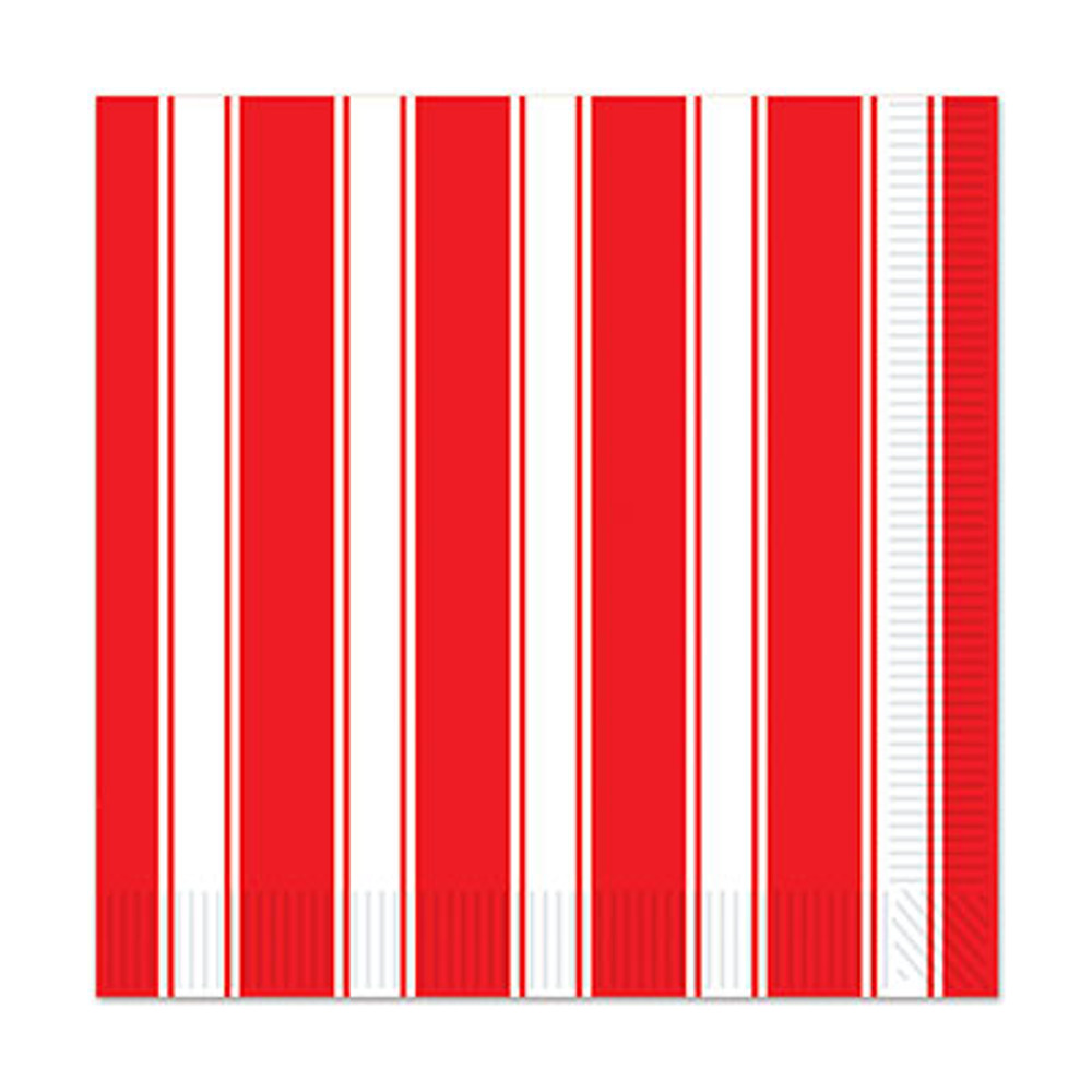 Circus Striped Luncheon Napkins