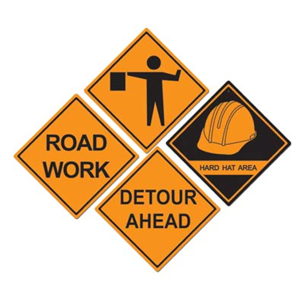 Construction Sign Cut Outs