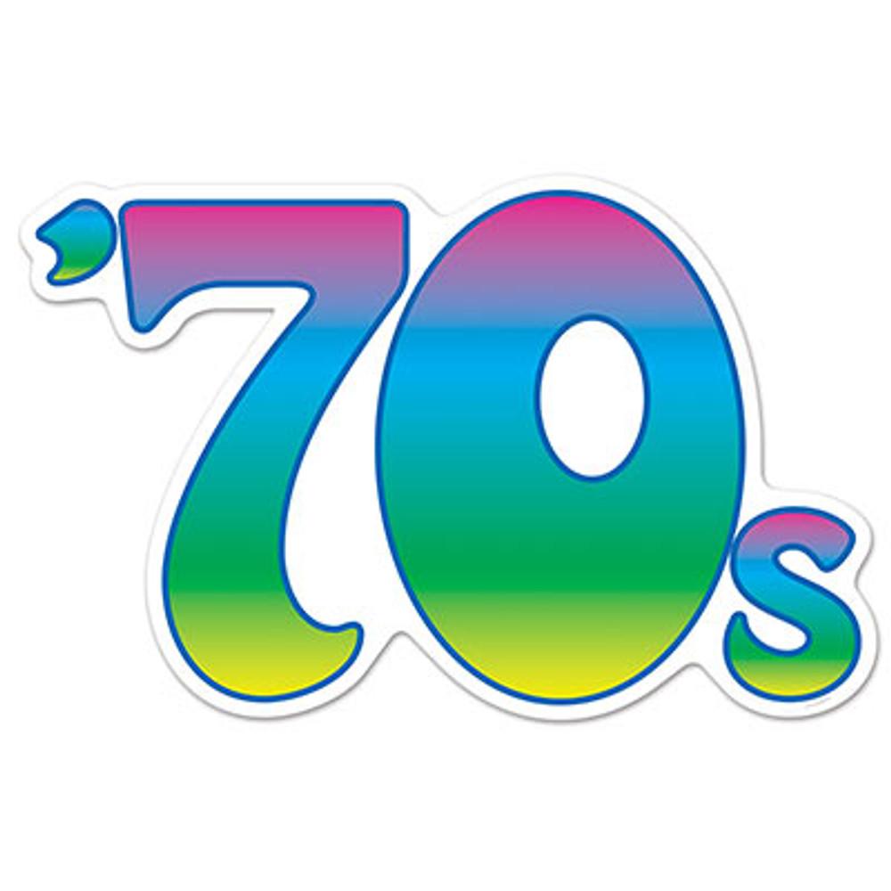 Disco 70's Cut Out