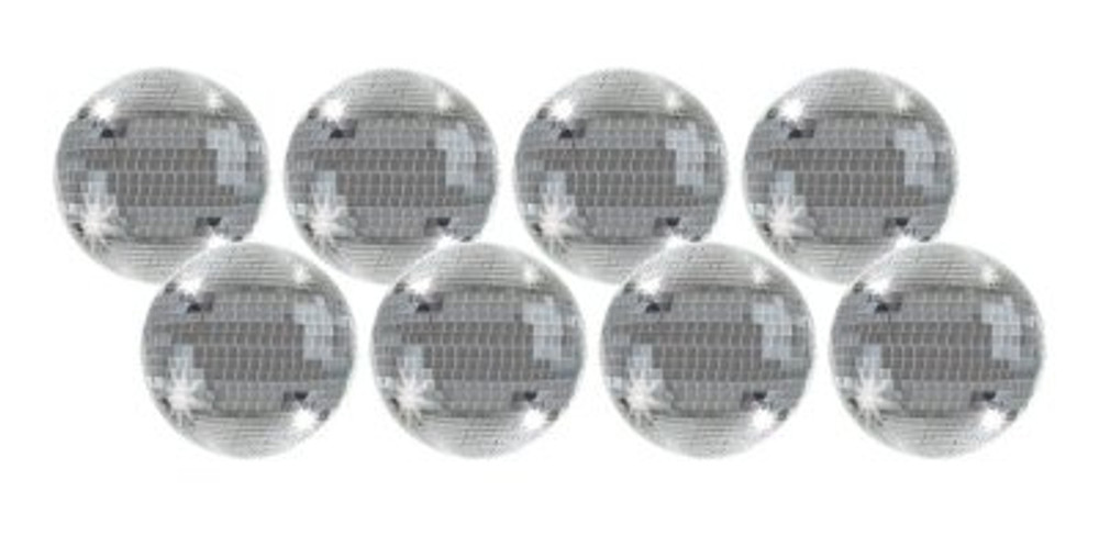 Disco Mirror Ball Drink Coasters
