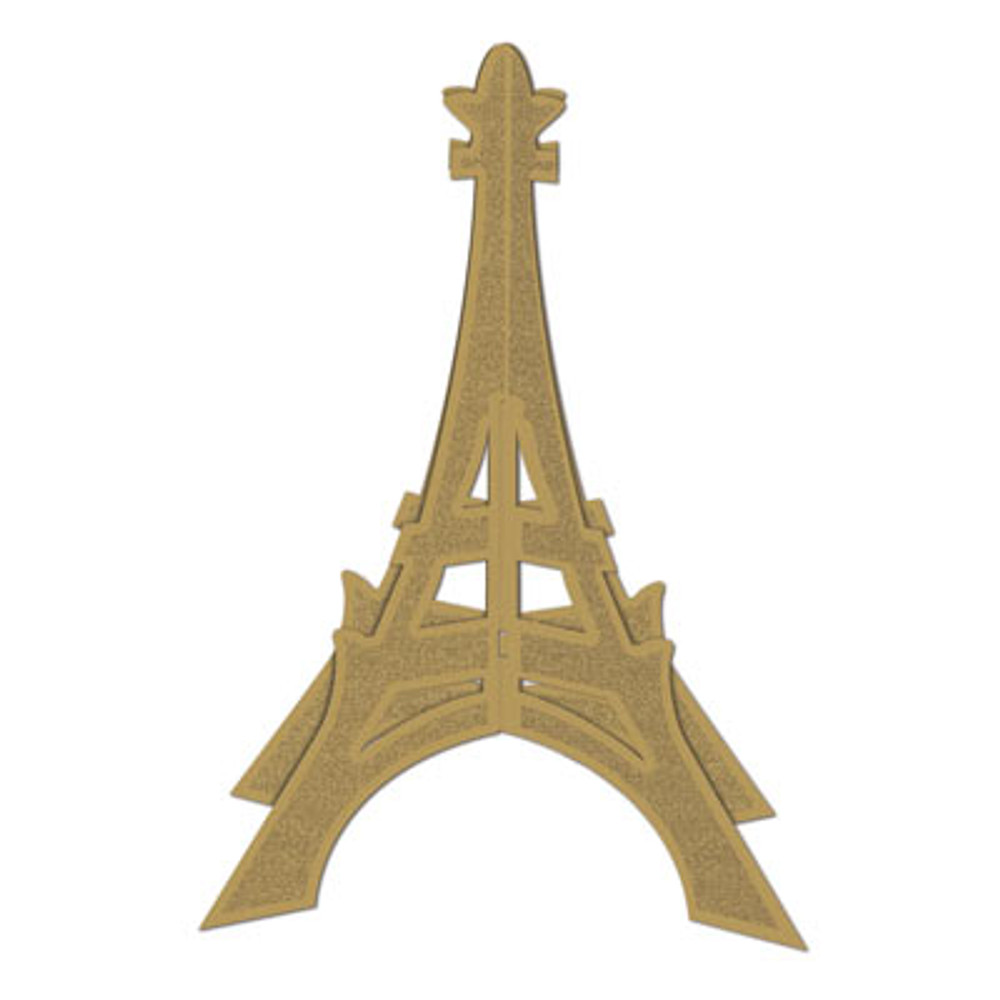 French 3D Eiffel Tower Centrepiece