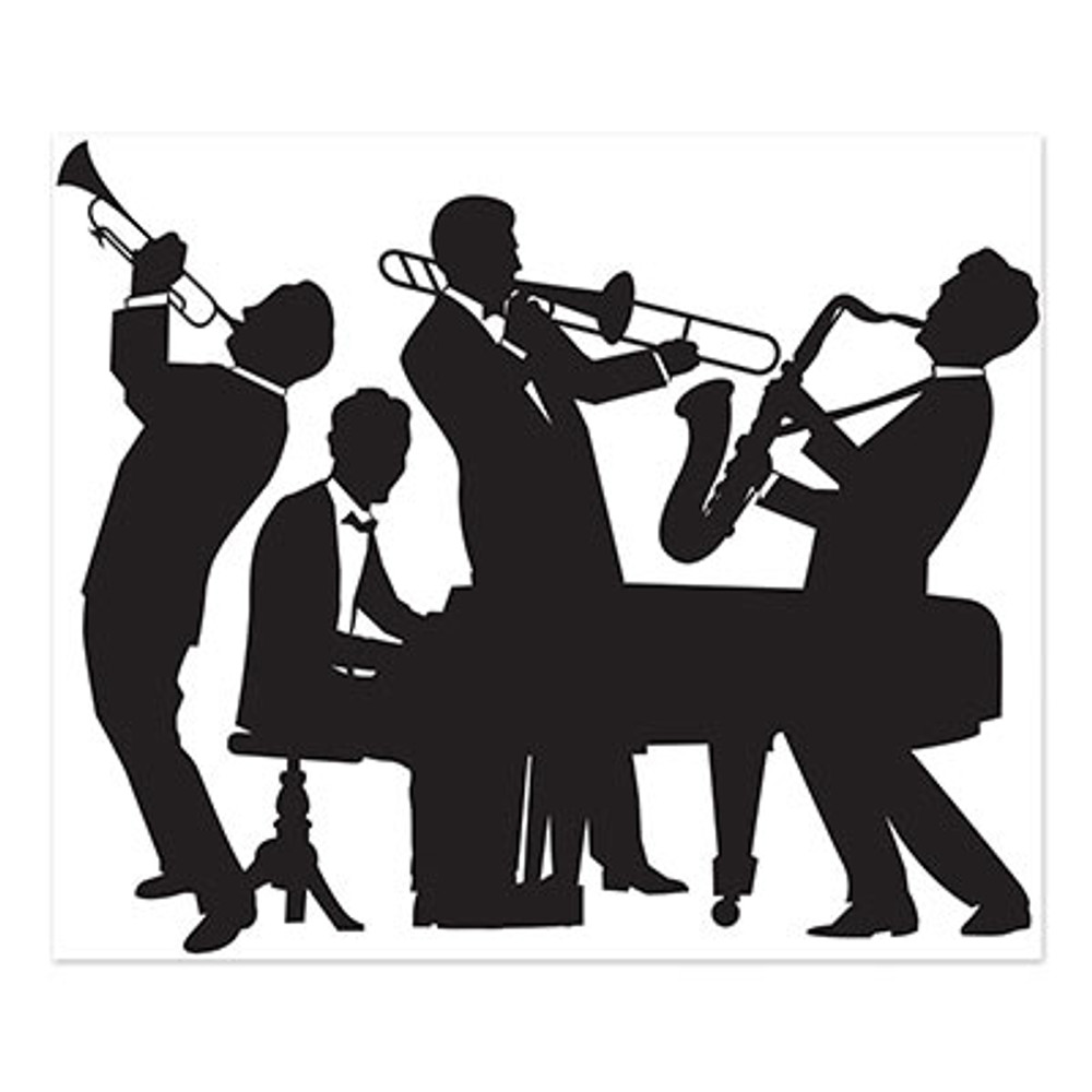 Great 20's Jazz Band Instant Mural