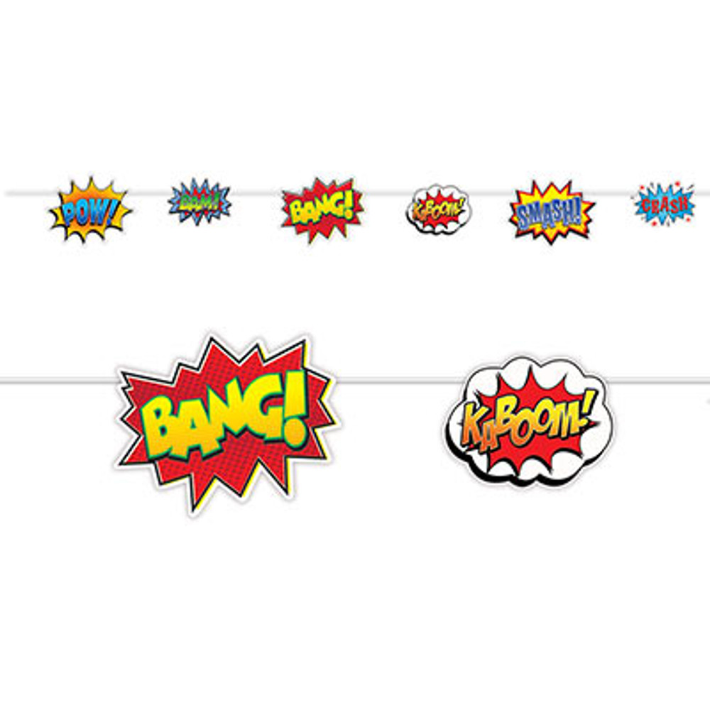 Hero Action Sign Streamer