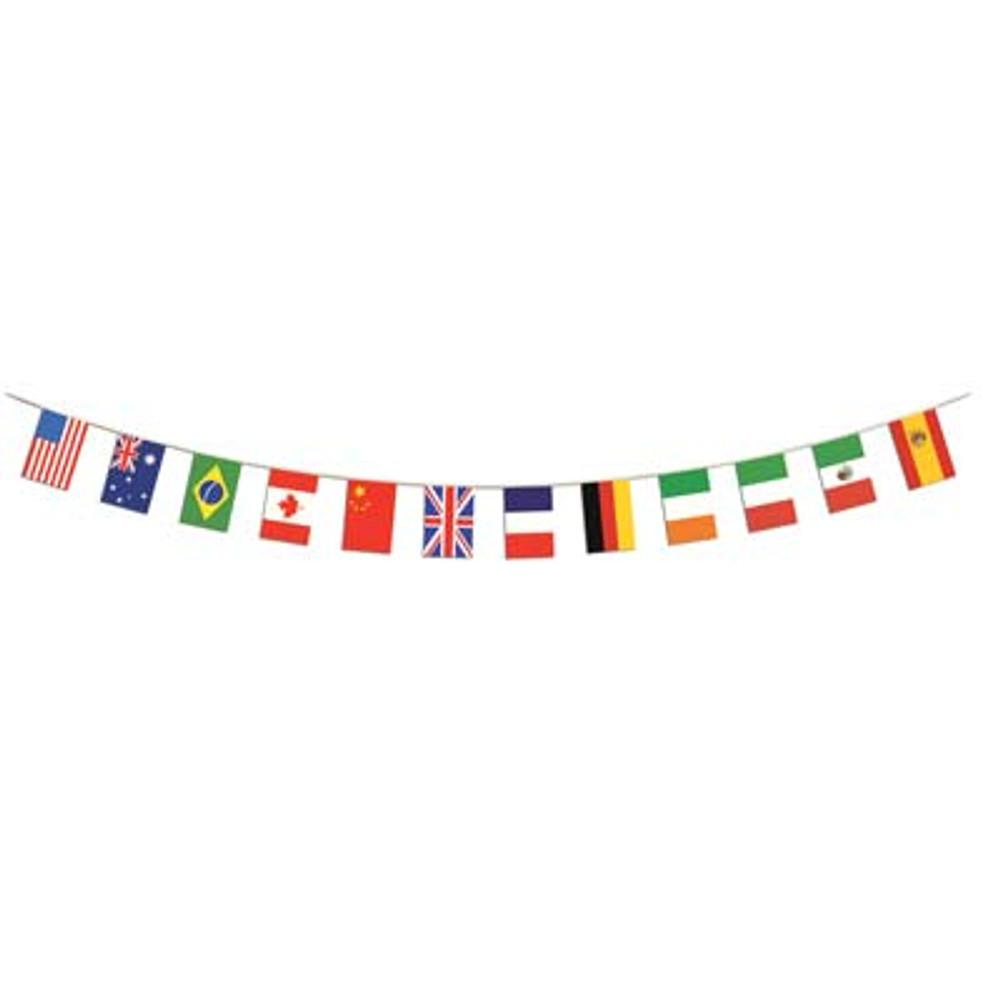 International Flag Banner