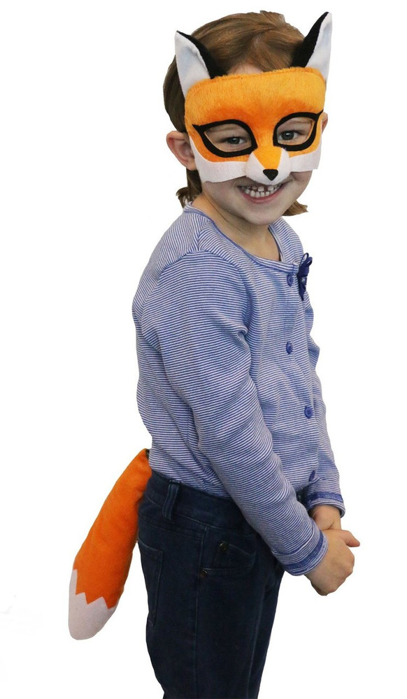 Fox Mask & Tail Set