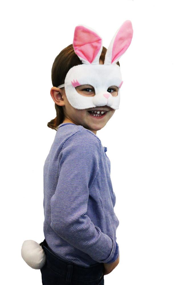 Rabbit Mask & Tail Set