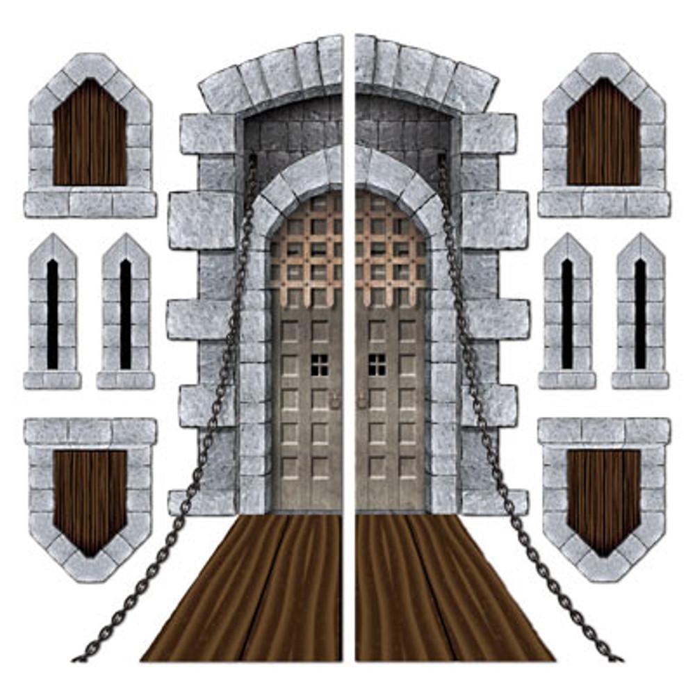 Castle Door & Windows Instant Prop