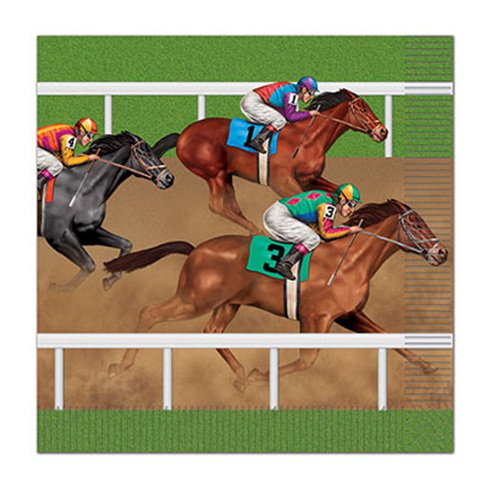 Horse Racing Luncheon Napkins