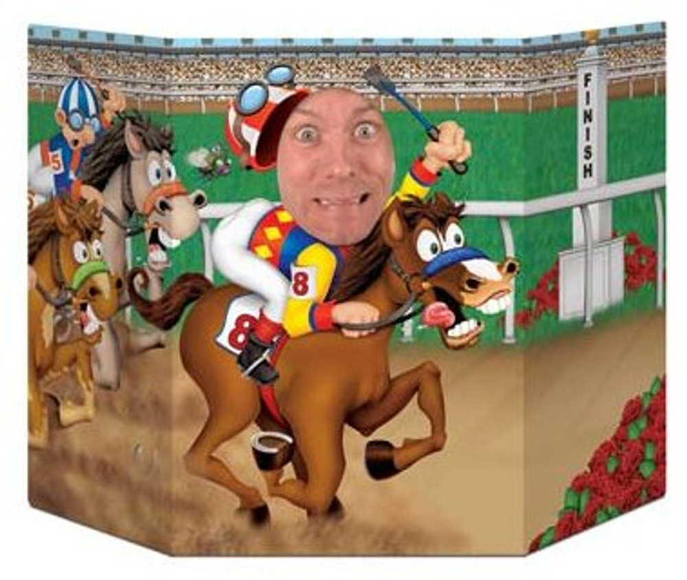 Photo Prop - Derby Day Jockey